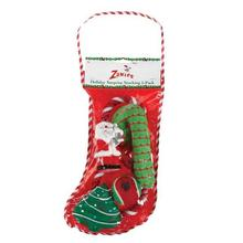 Zanies Holiday Surprise Dog Stocking - 5 Pack