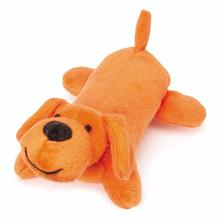 Zanies Neon Yelpers Dog Toy - Orange