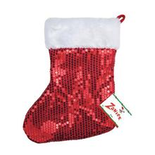 Zanies Red Sequin Pet Stocking