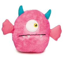 Zanies Rock Monster Plush Dog Toy - Pink