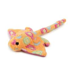 Zanies Sea Charmers Dog Toy - Peach Stingray