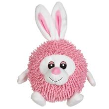 Zanies Silly Shaggies Dog Toy - Bunny