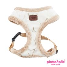 Zeal Dog Harness by Pinkaholic - Ivory