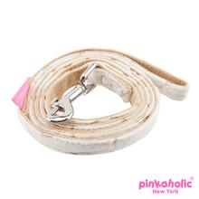 Zeal Dog Leash by Pinkaholic - Ivory