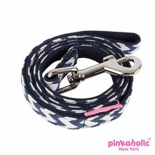 Ziggy Dog Leash by Pinkaholic - Navy