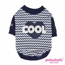 Ziggy Dog Shirt by Pinkaholic - Navy