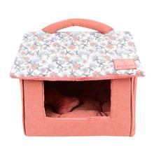 Zinnia House Dog Bed by Pinkaholic - Ivory
