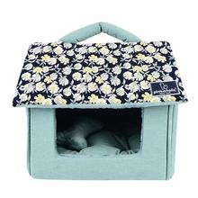 Zinnia House Dog Bed by Pinkaholic - Navy