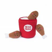 ZippyPaws Burrow Dog Toy - Bucket of Chicken