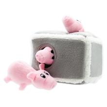 ZippyPaws Burrow Dog Toy - Pig Pen