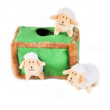 ZippyPaws Burrow Dog Toy - Sheep Pen