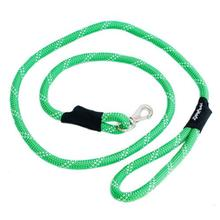 ZippyPaws CLIMBERS Mountain Climbing Rope Dog Leash - Green
