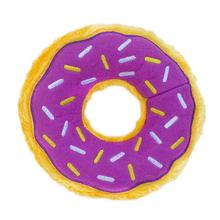 ZippyPaws Donutz Dog Toy - Grape Jelly