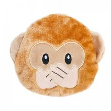 ZippyPaws Emojiz Dog Toy - Monkey