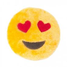 ZippyPaws Emojiz Dog Toy - Heart Eyes