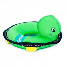 ZippyPaws Floaterz with Z-Stitch Dog Toy - Turtle
