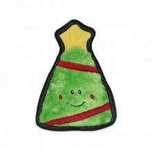 ZippyPaws Holiday Z-Stitch Dog Toy - Christmas Tree