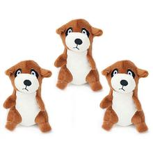 ZippyPaws Miniz Dog Toys - Meerkats