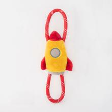 ZippyPaws RopeTugz® Dog Toy - Spaceship