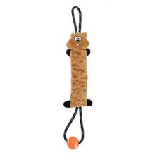 ZippyPaws SqueakieTugz Dog Toy - Chipmunk