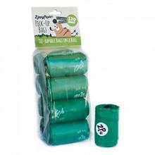 ZippyPaws Unscented Pick-Up Waste Bags - Green/120