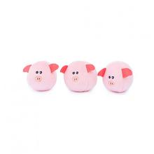 ZippyPawz Miniz Dog Toy - Bubble Pigs