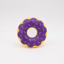 ZippyTuff Halloween Donutz Dog Toy - Grape Jelly