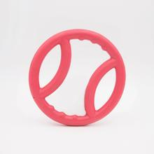 ZippyTuff Squeaky Ring Dog Toy - Pink