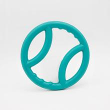 ZippyTuff Squeaky Ring Dog Toy - Teal