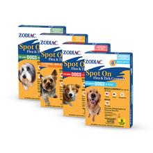 Zodiac Spot On Flea & Tick Control for Dogs and Puppies