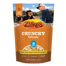 Zuke's Crunchy Naturals Dog Treats - Peanut Butter and Bananas