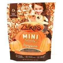 Zuke's Halloween Mini Naturals Dog Treats - Turkey & Pumpkin