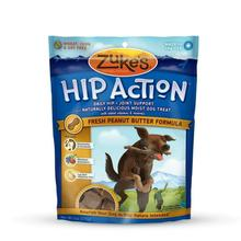 Zukes Hip Action Dog Treats with Glucosamine - Peanut Butter