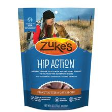 Zukes Hip Action Support Dog Treats - Peanut Butter and Oats