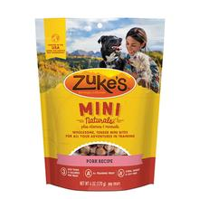 Zukes Mini Naturals Dog Treats - Pork