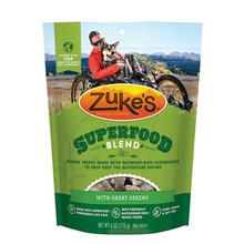 Zukes Super Food Dog Treats - Great Greens