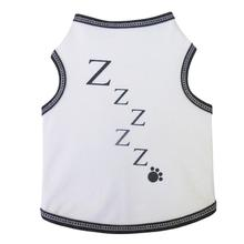 ZZZZZ Sleep Dog Tank - White